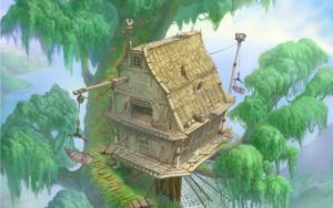 disney cabane arbres